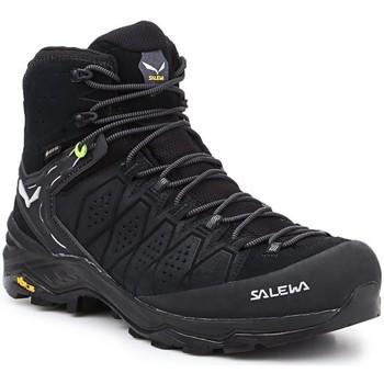 Scarpe Uomo Trekking Salewa MS Alp Trainer 2 Mid GTX 61382-0971 black