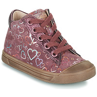 Scarpe Bambina Sneakers alte Acebo's 5533EL-GRANADA Rosa
