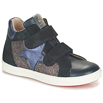 Scarpe Bambina Sneakers alte Acebo's 5541SX-MARINO Marine