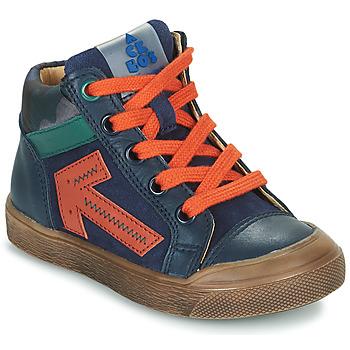 Scarpe Bambino Sneakers alte Acebo's 5567-MARINO-J Marine