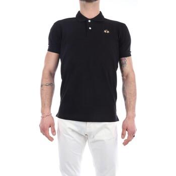 Abbigliamento Uomo Polo maniche corte La Martina CCMP02-PK001 Maniche Corte Uomo Black Black