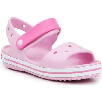 Scarpe Bambina Sandali Crocs Crocband Sandal Kids12856-6GD pink