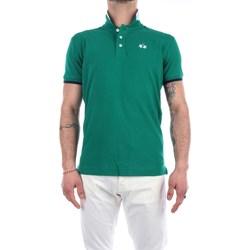 Abbigliamento Uomo Polo maniche corte La Martina RMP006-PK001 Maniche Corte Uomo Ultramarine green Ultramarine green