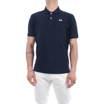 Abbigliamento Uomo Polo maniche corte La Martina BPMP01-PK031 Maniche Corte Uomo Navy Navy