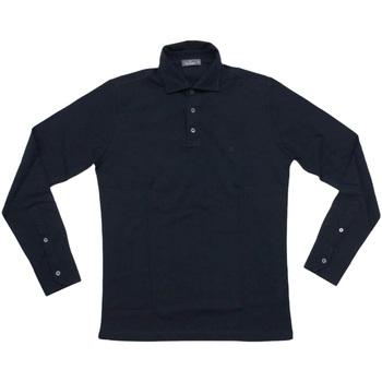 Abbigliamento Uomo Polo maniche lunghe Ferrante ATRMPN-26483 Blu