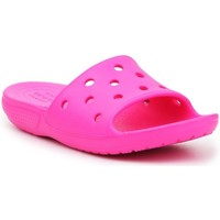 Scarpe Unisex bambino ciabatte Crocs Classic Slide Rosa