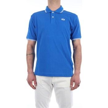 Abbigliamento Uomo Polo maniche corte La Martina BPMP02-PK031 Maniche Corte Uomo Victoria blue Victoria blue
