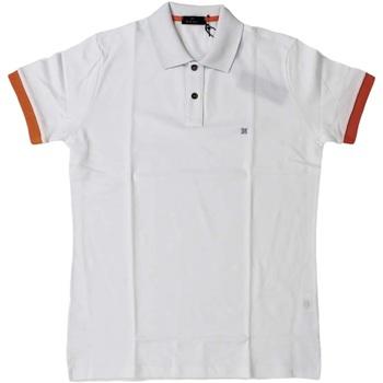 Abbigliamento Uomo Polo maniche corte Ferrante ATRMPN-26490 Bianco
