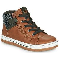 Scarpe Bambino Sneakers alte Mod'8 KYNATA Cognac