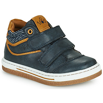 Scarpe Bambino Sneakers alte Mod'8 KYNATOL Marine / Mostarda