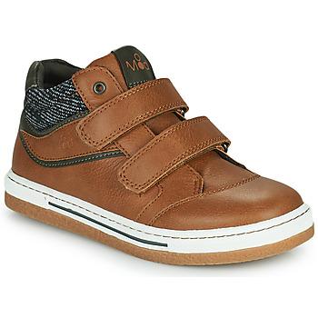 Scarpe Bambino Sneakers alte Mod'8 KYNATOL Cognac