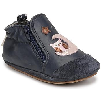 Scarpe Bambina Scarpette neonato Robeez NICE OWL Marine