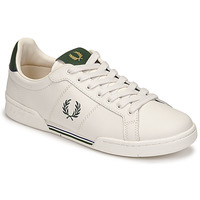 Scarpe Uomo Sneakers basse Fred Perry B722 LEATHER Bianco / Verde