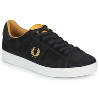 Scarpe Uomo Sneakers basse Fred Perry SPENCER SUEDE Nero / Oro