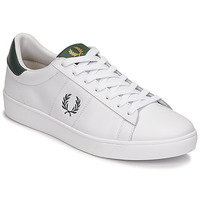 Scarpe Uomo Sneakers basse Fred Perry SPENCER LEATHER Bianco / Verde