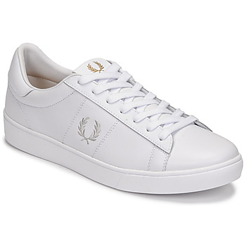 Scarpe Uomo Sneakers basse Fred Perry SPENCER LEATHER Bianco