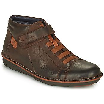 Scarpe Uomo Sneakers alte Fluchos ALFA Marrone