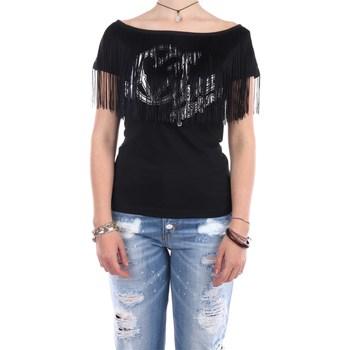 Abbigliamento Donna T-shirt maniche corte Love Moschino W4H42-01-E1951 Manica Corta Donna Black Black