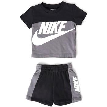 Abbigliamento Bambino Completo Nike - Tuta nero 66H363-M19 NERO