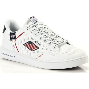 Scarpe Uomo Sneakers basse Cotton Belt Mercurio White Earth Deep Bianco