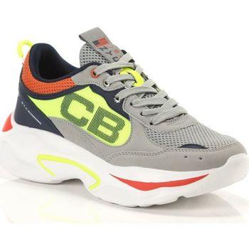 Scarpe Uomo Sneakers basse Cotton Belt Mixer Ciment Flag FL Yellow FL Orange Grigio