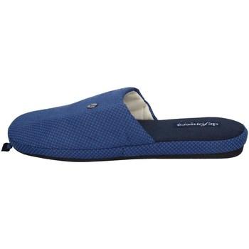 Scarpe Uomo Pantofole De Fonseca ROMA TOP E M741 BLU SCURO