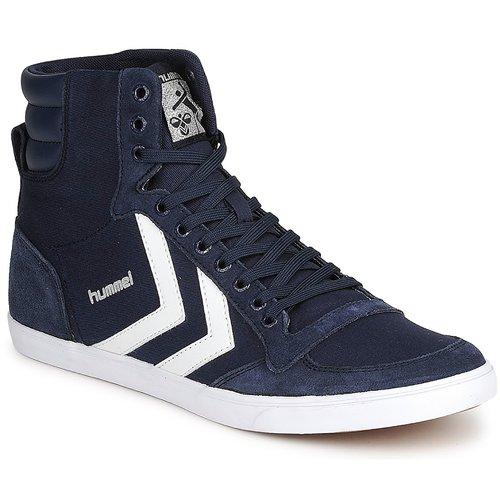 Hummel TEN  STAR HIGH CANVAS Marine  TEN Scarpe Sneakers alte  68,99 3b2ae4