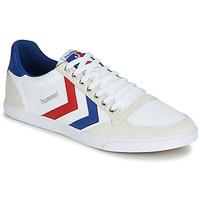 Scarpe Uomo Sneakers basse Hummel TEN STAR LOW CANVAS Bianco / Rosso / Blu