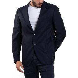 Abbigliamento Uomo Giacche / Blazer Lardini ELRP56588-850 Blu