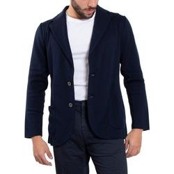 Abbigliamento Uomo Giacche / Blazer Lardini EL56000-850 Blu