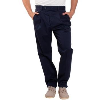 Abbigliamento Uomo Chino Lardini EL56082-850 Blu