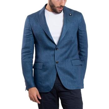 Abbigliamento Uomo Giacche / Blazer Lardini ELA56530-830 Blu