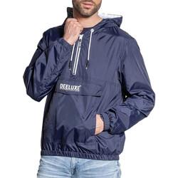 Abbigliamento Uomo giacca a vento Deeluxe S21607M Blu