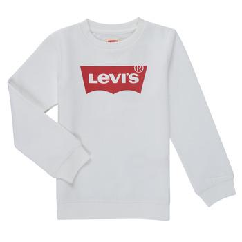 Abbigliamento Bambino Felpe Levi's BATWING CREWNECK SWEATSHIRT Bianco