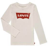 Abbigliamento Bambina T-shirts a maniche lunghe Levi's LS BATWING TEE Bianco