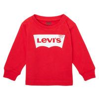 Abbigliamento Bambino T-shirts a maniche lunghe Levi's L/S BATWING TEE Rosso