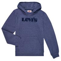 Abbigliamento Bambino Felpe Levi's GRAPHIC PULLOVER HOODIE Marine