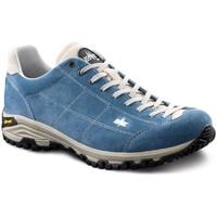 Scarpe Uomo Sneakers Lomer Scarpe  MAIPOS MTX SUEDE JEANS/LAMB Uomo Azzurro Blu