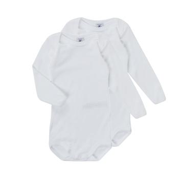 Abbigliamento Unisex bambino Pigiami / camicie da notte Petit Bateau TESSA Bianco