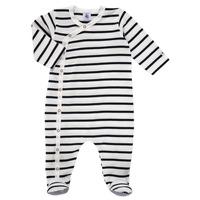 Abbigliamento Unisex bambino Pigiami / camicie da notte Petit Bateau ONZER Bianco / Marine