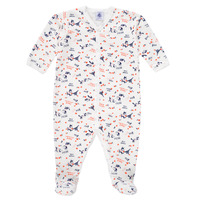 Abbigliamento Bambina Pigiami / camicie da notte Petit Bateau LEA Multicolore