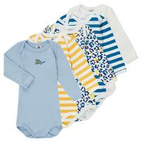 Abbigliamento Bambino Pigiami / camicie da notte Petit Bateau FEDDY Multicolore