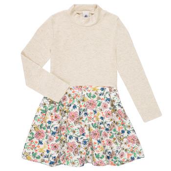 Abbigliamento Bambina Abiti corti Petit Bateau WESSRI Multicolore