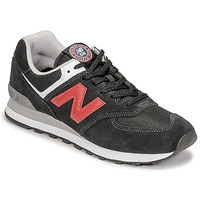 Scarpe Uomo Sneakers basse New Balance 574 Nero / Rosso