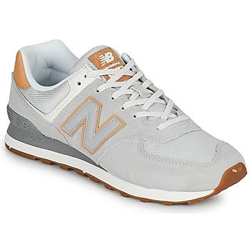 Scarpe Uomo Sneakers basse New Balance 574 Grigio / Beige