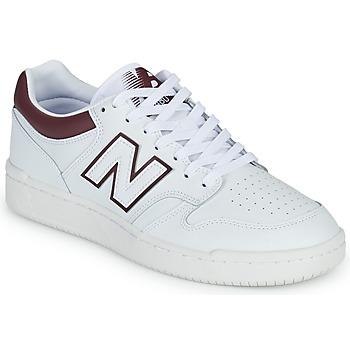 Scarpe Uomo Sneakers basse New Balance 480 Bianco / Bordeaux