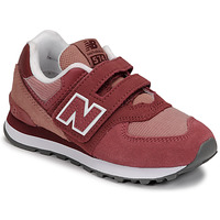 Scarpe Bambina Sneakers basse New Balance 574 Rosa