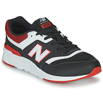 Scarpe Bambino Sneakers basse New Balance 997 Nero / Rosso