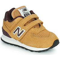 Scarpe Bambino Sneakers basse New Balance 574 Marrone