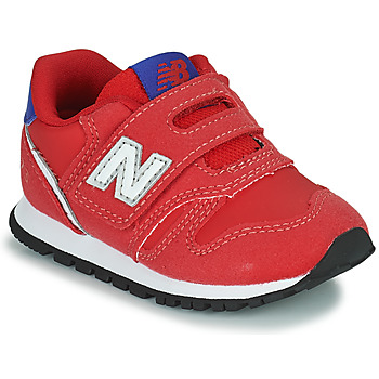 Scarpe Bambino Sneakers basse New Balance 373 Rosso